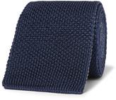 Boglioli - 6cm Reversible Knitted Silk Tie
