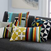 west elm Wallace Sewell Kente Crewel Pillow Cover