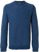 Tod's textured crew neck sweater