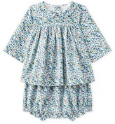 Petit Bateau Baby girls printed dress and bloomers
