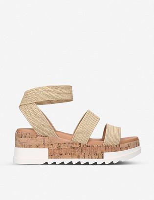 Steve Madden Bandi elastic-strap platform sandals