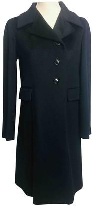 Kiton Blue Cashmere Coats