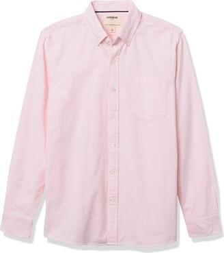 Goodthreads Standard-fit Long-sleeve Striped Oxford Shirt W/Pocket Button