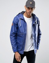Bellfield Fisherman Style Jacket in Coated Fabric