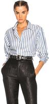 Isabel Marant Manray Shirt in Blue,Stripes.