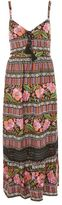 Band of Gypsies Havana print maxi dress