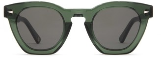AHLEM Montorgueil Dark Green Sunglasses