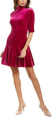 Black Halo Reeder Mini Dress