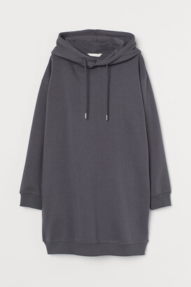 H&M MAMA Sweatshirt Dress - Gray