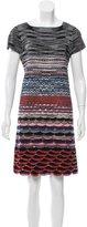 Missoni Scalloped Knit Dress
