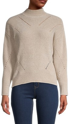 Calvin Klein Mockneck Knitted Sweater