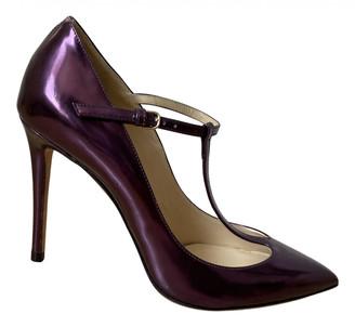 Jimmy Choo Metallic Patent leather Heels