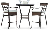 Rum Cay 3-Pc. Pub Set (Table & 2 Chairs), Quick Ship