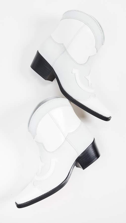 Ganni Low Texas Boots