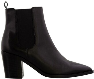 Tony Bianco Sabrine Black Como Ankle Boot