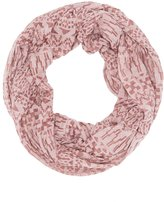 Charlotte Russe Aztec Burnout Infinity Scarf