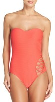 Kenneth Cole New York Women's Kenneth Cole Shanghi One-Piece Swimsuit