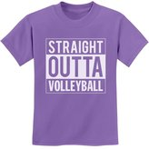 TeeStars - Straight Outta Volleyball Youth Kids T-Shirt