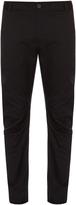 Lanvin Slim-leg wool-blend biker trousers