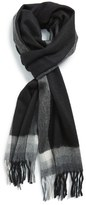 Nordstrom Men's Border Stripe Cashmere Scarf