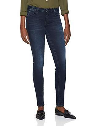 Le Temps Des Cerises Women's JFPOWER3WA206 Skinny Jeans, (Blue/Black 3286), 31W x 32L