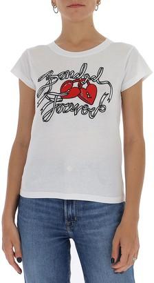 RED Valentino Bonded Forever Print T-Shirt