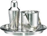 Cambridge Silversmiths Hammered Stainless Steel 3-pc. Barware Set
