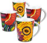 Konitz Power Art Mugs (Set of 4)