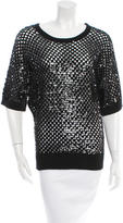Michael Kors Embellished Cashmere Top w/ Tags