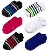 Hue Liner Socks, Set of 6