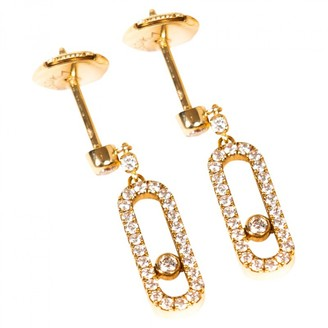 Messika Move Classique Gold Yellow gold Earrings