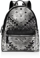MCM Stark Medium Stud Backpack