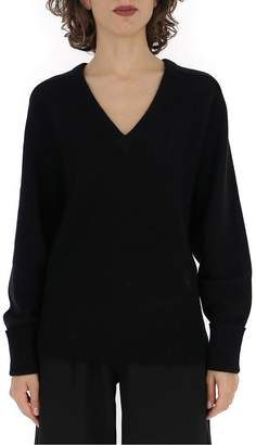 Chloé V Neck Knitted Sweatshirt