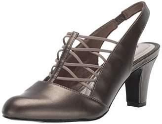 Easy Street Shoes Women's Berry Slingback Dress Shoe on Tapered Heel Pump