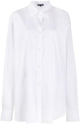 Ann Demeulemeester Oversize Striped Shirt