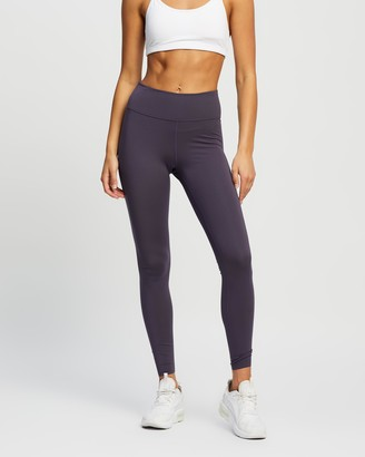 Nike Women's Purple Tights One Luxe Mid-Rise Tights - Size XS at The Iconic