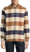 Aquascutum Rigby Cotton Flannel Sport Shirt
