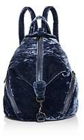 Rebecca Minkoff Julian Medium Crushed Velvet Backpack