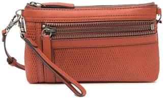 Frye Lena Perforated Leather Crossbody Bag