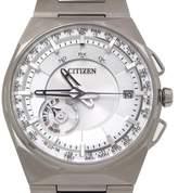 Citizen F100-T021085 Titanium Quartz 45.4mm Mens Watch
