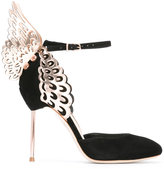 Sophia Webster wings motif pumps - women - Leather/Calf Suede - 35