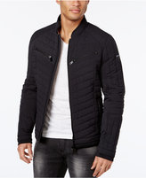 GUESS Men's Stretch Printed Jacket