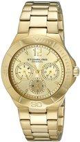 Stuhrling Original Women's 558.02 Symphony Regent Capital Quartz Day and Date Tone Bracelet Watch