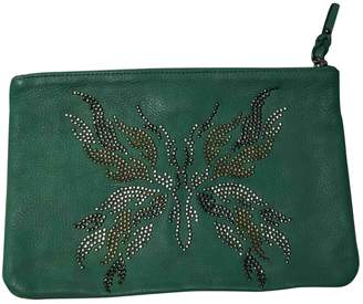Zadig & Voltaire Green Leather Clutch bags