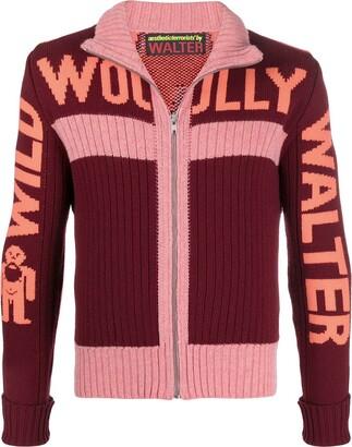 Walter Van Beirendonck Pre-Owned Wild Woolly Walter zipped cardigan