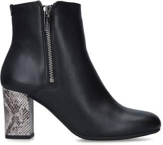 Carvela Suede Rail Ankle Boots 75