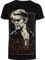 River Island Black David Bowie Band T-shirt