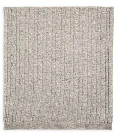 Sofia Cashmere Sofia Unisex Cable Knit Cashmere Baby Blanket