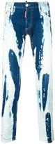DSQUARED2 Clement bleached jeans - men - Cotton/Polyester/Spandex/Elastane - 44