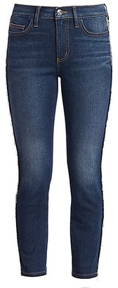 The Chained Stiletto Crop Jeans